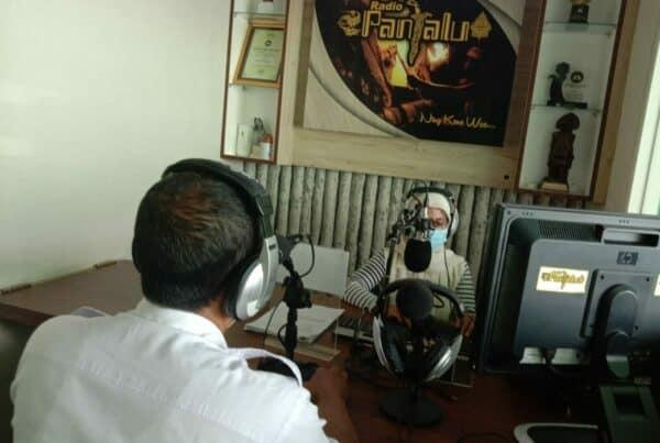 BNN Kabupaten Kediri Talk Show di Radio Panjalu FM dangan Tema Hidup 100% Tahun 2021