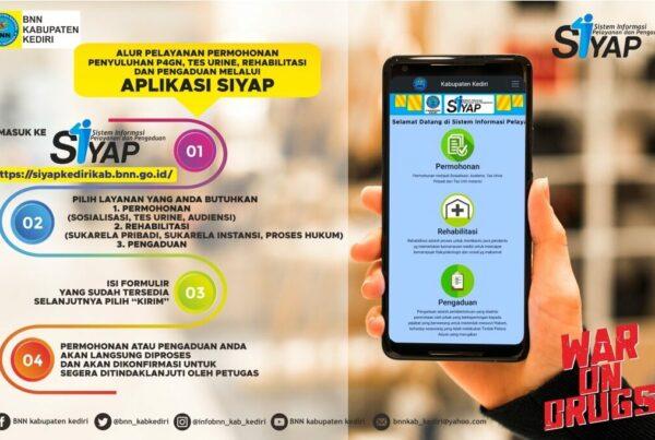 BNN Kabupaten Kediri Aplikasi SIYAP