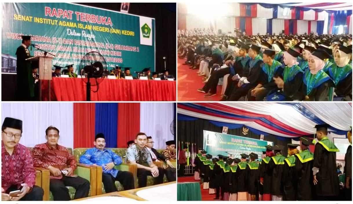Wisuda Program Sarjana & Pascasarjana Gelombang II IAIN Kediri Tahun 2019