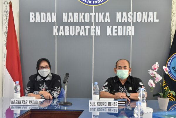 Wujudkan Rehabilitasi Narkoba Berbasis Masyarakat, BNN Kab. Kediri gelar Rakor IBM